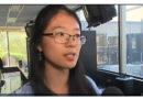 来自云南的华裔女生刘奕利(Elin Liu) 荣获多伦多教育局第二名