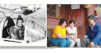 """""""飞虎队员""""威廉·芬德利和女儿与腾冲界头镇的传奇故事"""