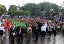 今天是9月14日,腾冲光复75周年,国殇墓园祭英烈