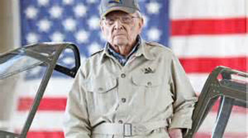 2月6日美国飞虎协会前会长弗兰克·洛森斯基(Frank Losonsky)逝世, 享年99岁
