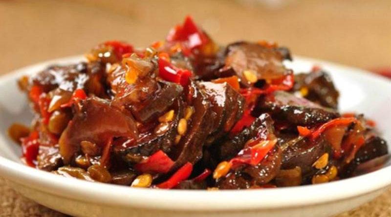 云南土特产咸菜:腌洋薑