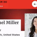 香奈儿·米勒入选美国福布斯2021精英榜
