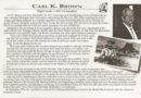 飞虎队员卡尔·凯斯·布朗(Carl Kice Brown)生前常说为中国保疆卫土是荣誉