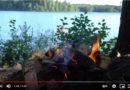 生活在芬兰云南兑兑:在芬兰的夏日森林里露营(超好吃的篝火三明治)