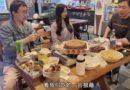 韩国媳妇玉涵一家重返大学校园,  与云南民族大学的老同学相聚