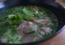 云南傣家美食:  牛扒呼